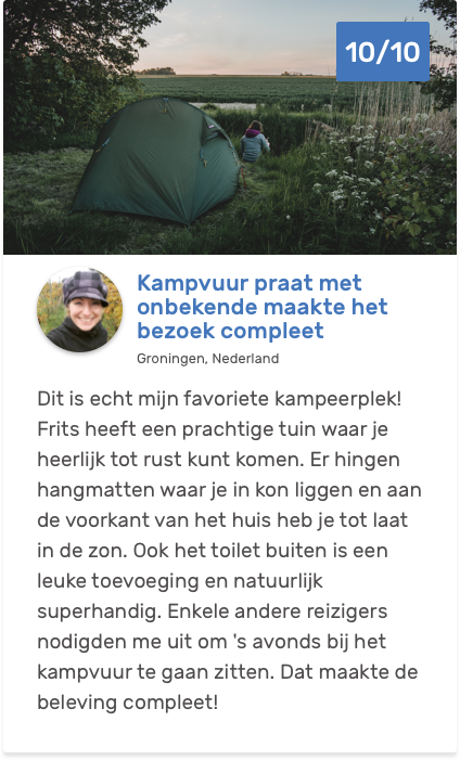 €20.00 per nacht | Eco-Camping nearby Wad and DarkSky-park Lauwersoog